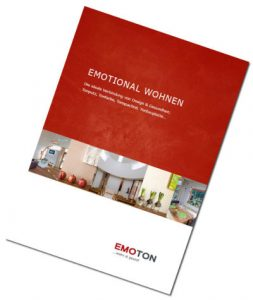 EMOTON Broschüre EMOTIONAL WOHNEN