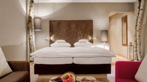 Tonputz von Emoton in Hotelzimmer Chalet Inn´s Holz in Ulrichsberg