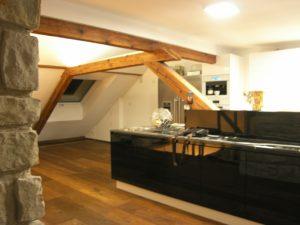 Tonputz von Emoton in Wohnraum mit Küche