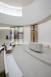 Tonputz von Emoton im Krankenhaus Elisabethinen in Linz