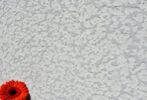 STRUTTURA mit Tonfeinfarbe COLORE zweifarbig geschliffen - Farbton Grigio Perla und Weiß 1