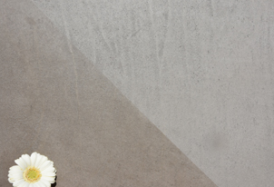 STUCCO verpresst - Farbton Umbra Scuro hell mit und ohne Wachs 2